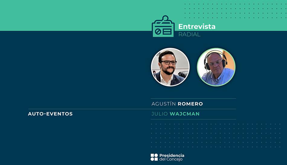 Entrevista de Julio Wajcman - Agustín Romero - Autoeventos