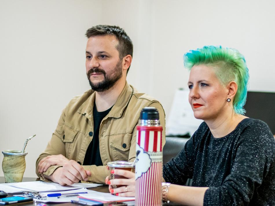 Conversatorio en Vivo: Activismo Gráfico y Gestión Cultural. Presentado por Agustín Romero