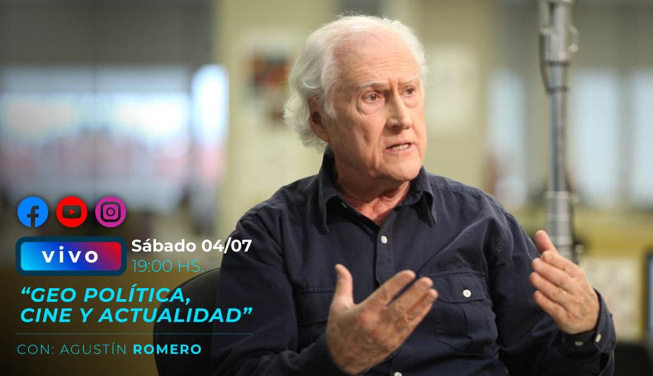 Conversatorio Online: Geopolítica, Cine Y Actualidad con Pino Solanas