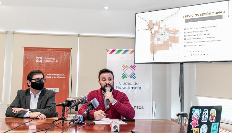 Presentación Plan Director de Servicios Públicos
