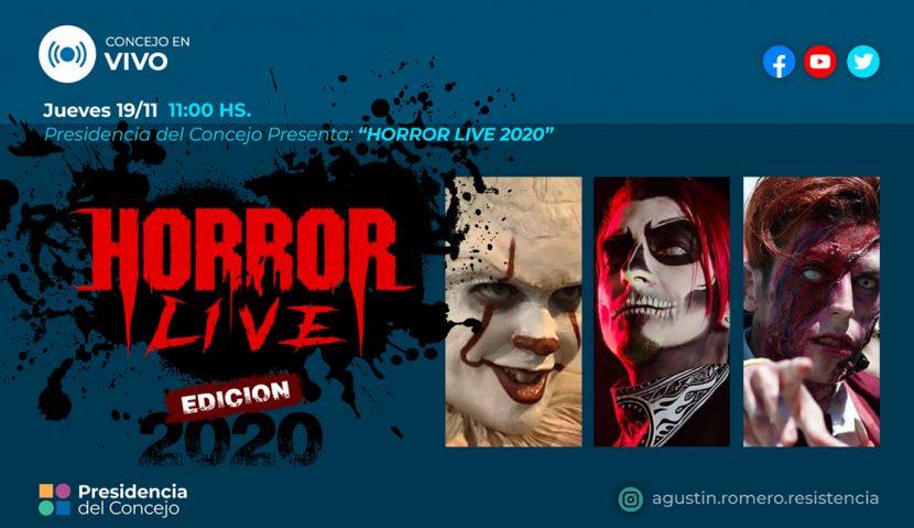 Presentación: HorrorLive 2020