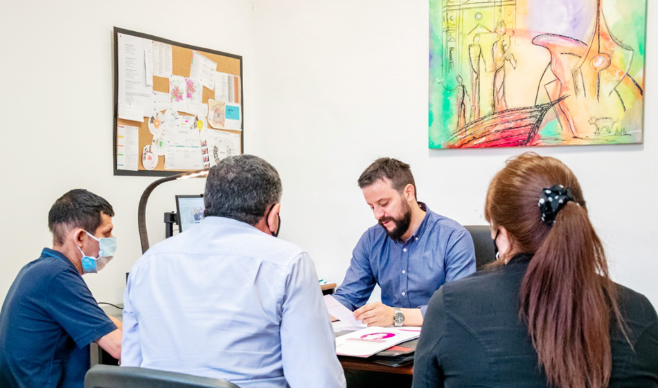 """Coordinando acciones con la Fundación """"Natalia Samaniego"""""""