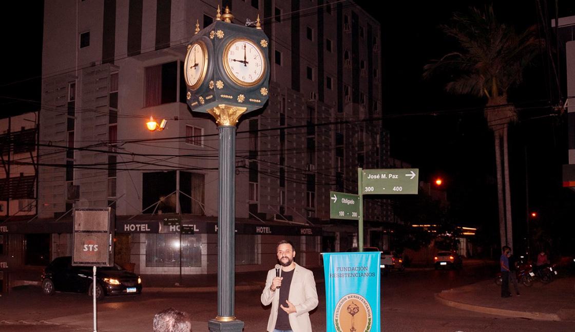 Noveno reloj público de Resistencia