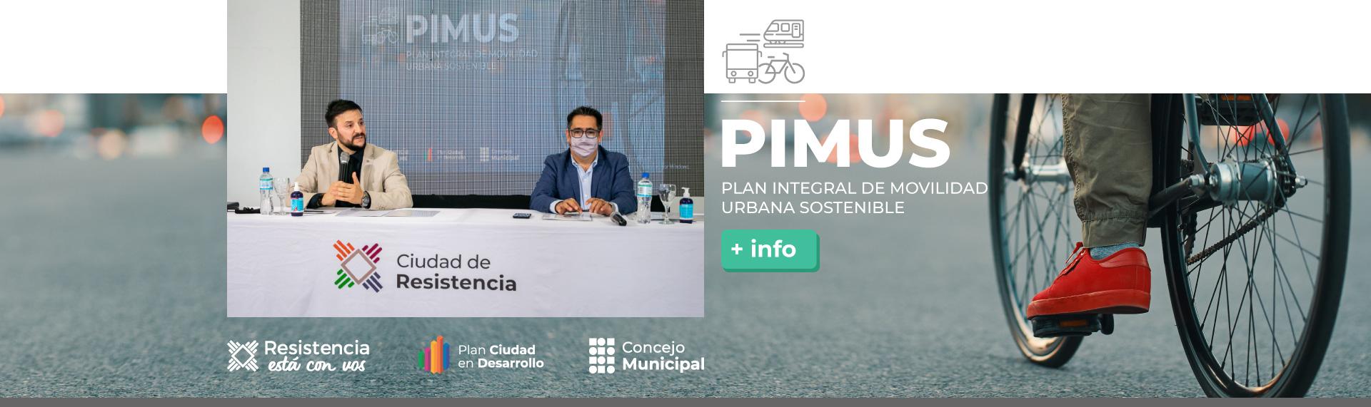 Plan Integral de Movilidad Sostenible – PIMUS