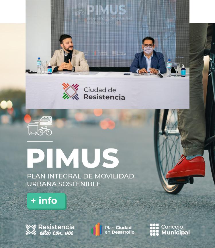 Plan Integral de Movilidad Sostenible – PIMUS –