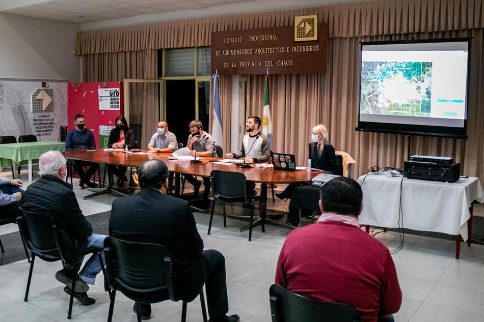 Encuentro participativo en el Colegio de Arquitectos