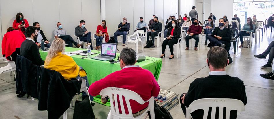 Encuentro participativo con organismos del Estado