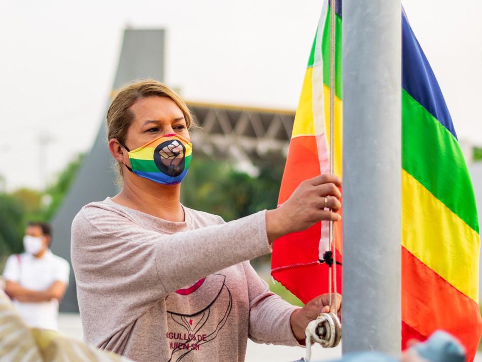Día por la diversidad sexual en memoria de Carlos Jáuregui